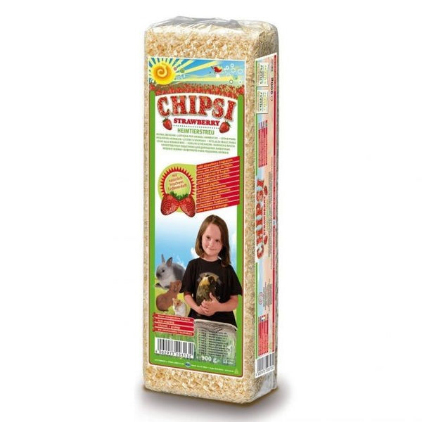 CHIPSI STRAWBERRY 1KG