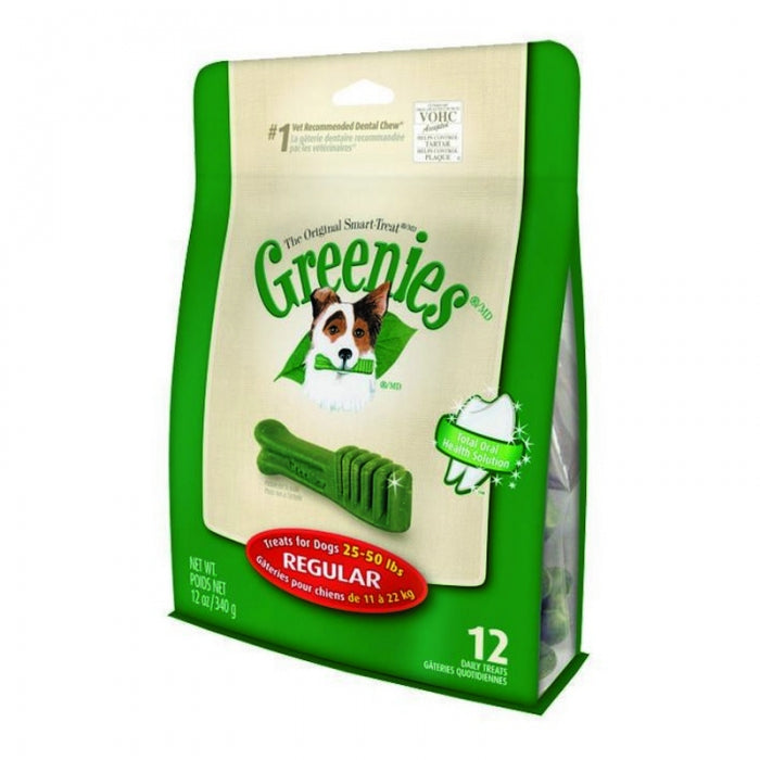 GREENIES REGULAR 12 PACK 340G