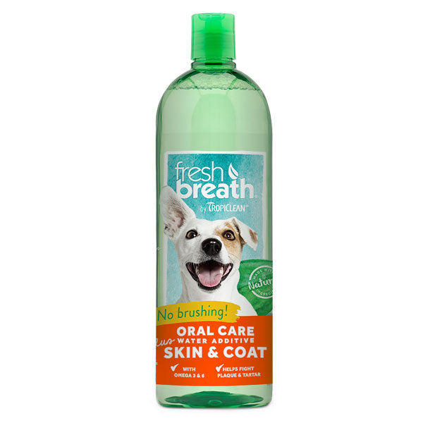 FRESH BREATH WATER ADD PLUS SKIN & COAT