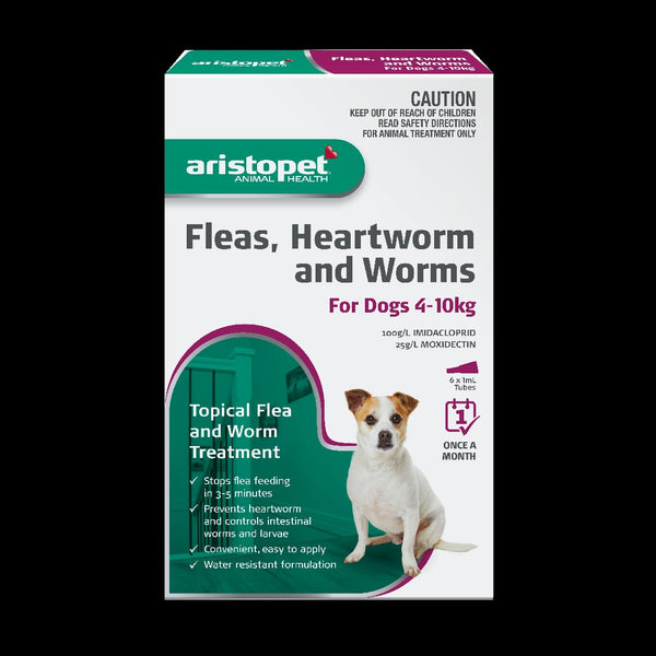 ARI SPOT TREATMENT DOG 4-10KG 6PK