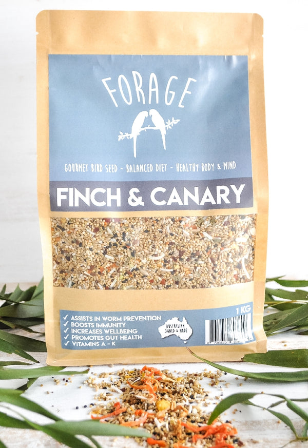 FORAGE FINCH AND CANARY 1.75KG