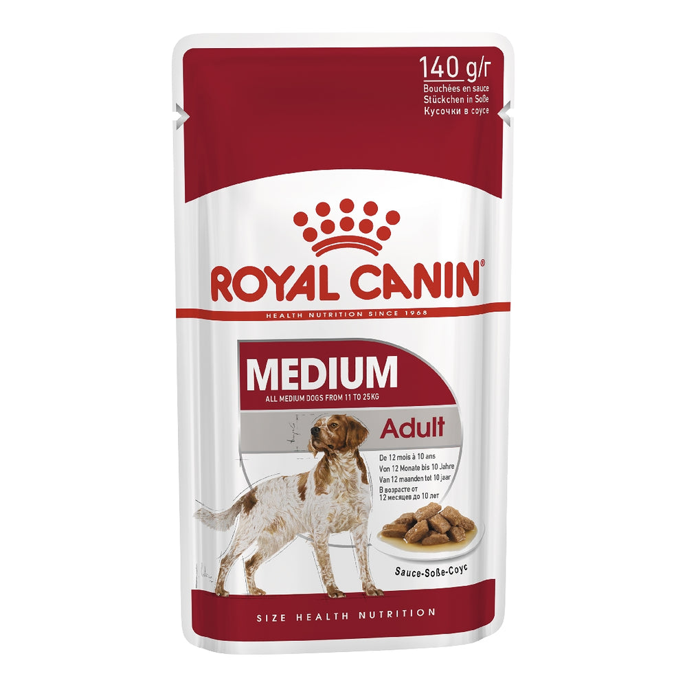 Royal Canin Dog Medium Adult 140g Pouch