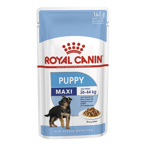 ROYAL CANIN DOG MAXI PUPPY 140G POUCH