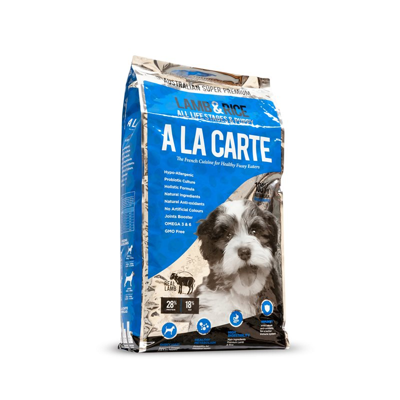 A La Carte Lamb & Rice Puppies 18kg