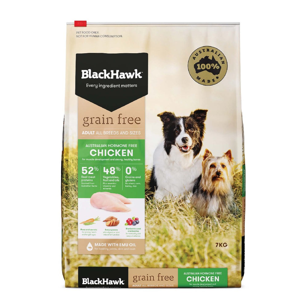 BLACK HAWK ADULT GRAIN FREE CHICKEN 7KG