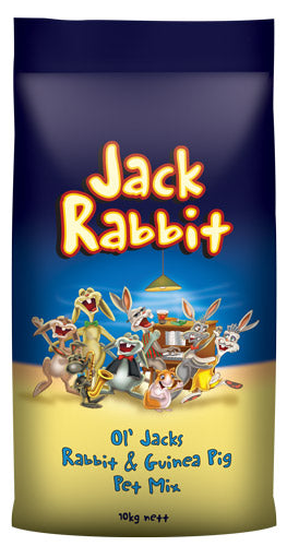 OL JACK RABBIT MIX 10KG LAUCKE MILLS