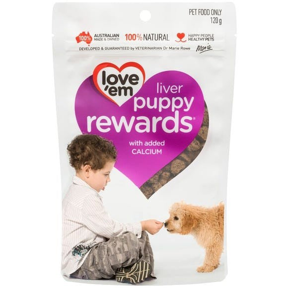 Love Em Liver Puppy Rewards 200g