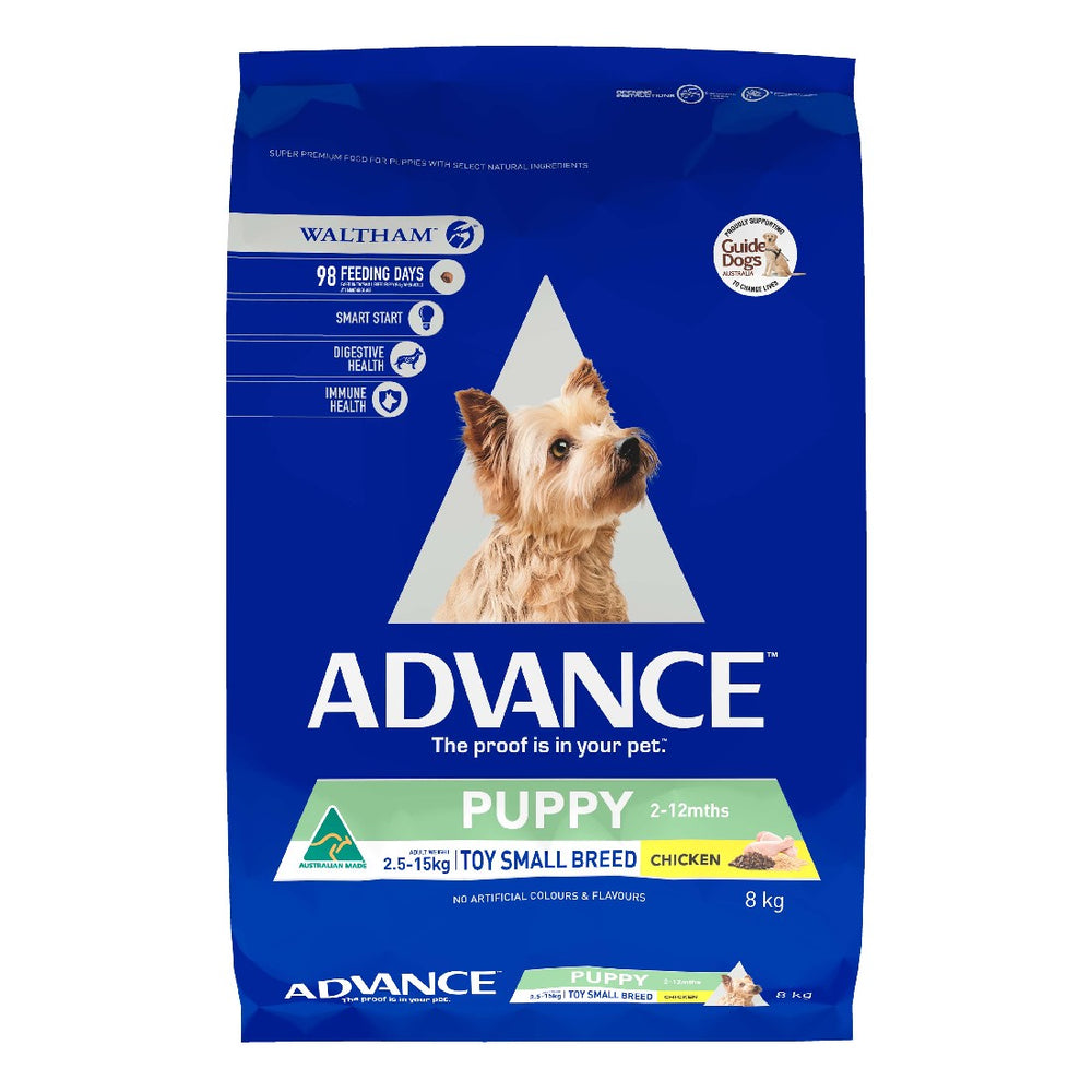 ADVANCE DOG PUPPY REHYDRATE TOY BRD 8KG