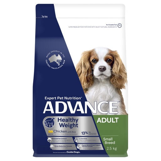 Advance Dog Weight Sml Breed Chick 2.5kg