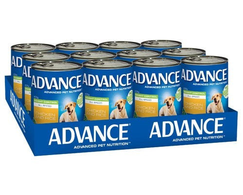 ADVANCE DOG CANS WEIGHT CONTROL 405GX12