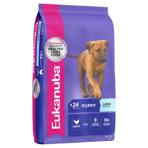 EUKANUBA LARGE BREED PUPPY 15KG