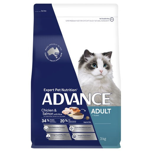 Advance Cat Adult Tw Chic & Salmon 3kg