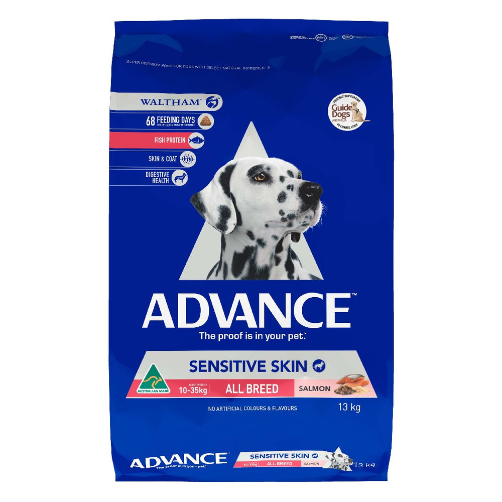 ADVANCE DOG SENSITIVE SKIN 13KG