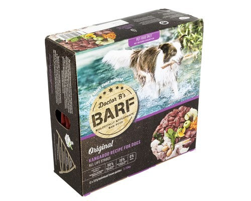 BARF KANGAROO PATTIES DOGS 2.72KG