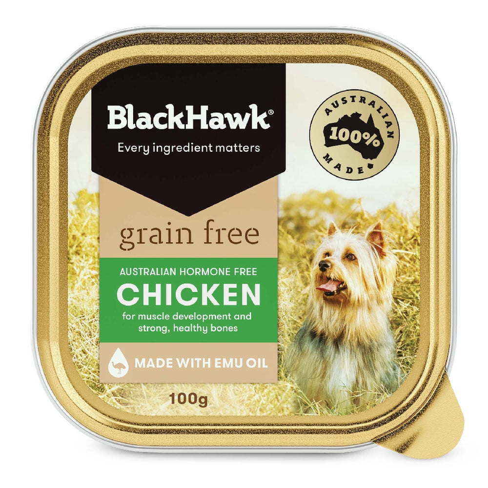 BLACK HAWK GRAIN FREE CHICKEN CAN 100G