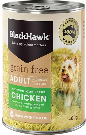 BLACK HAWK CHICKEN CAN 400G