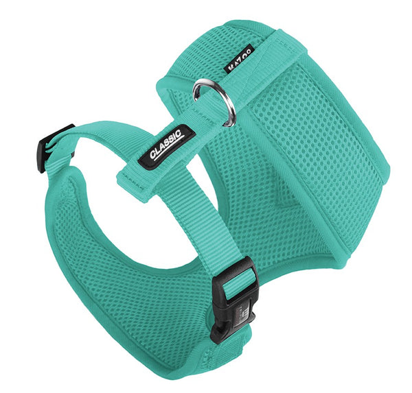 CLASSIC-SOFT WALKING HARNESS-MINT-XS