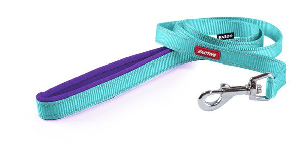 ACTIVE-NYLON LEAD-AQUA/PURP-1800X20MM