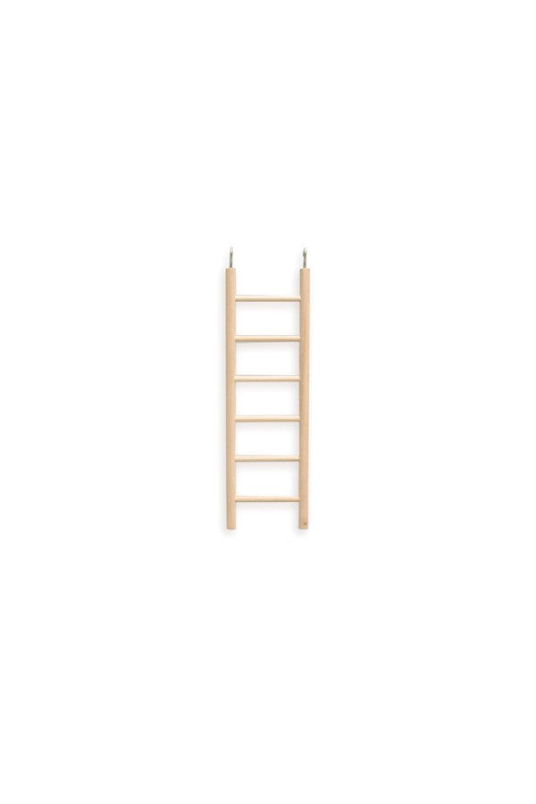 LADDER 6 STEP WOODEN SML