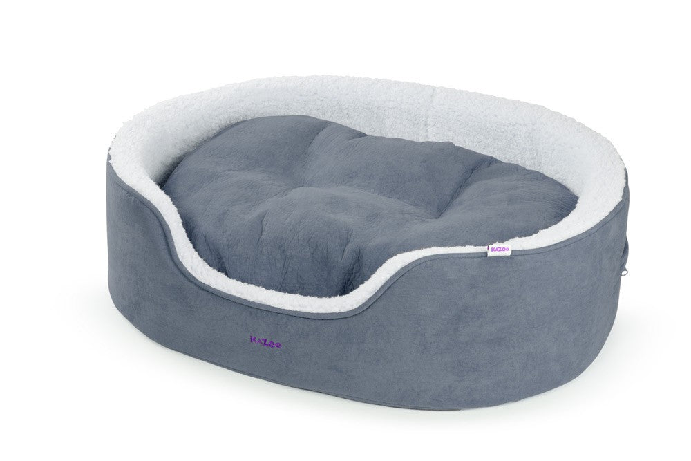 MANHATTAN BED - GREY/WHITE - LARGE