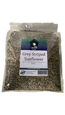 AVIGRAIN GREY STRIPED SUNFLOWER 1.5KG