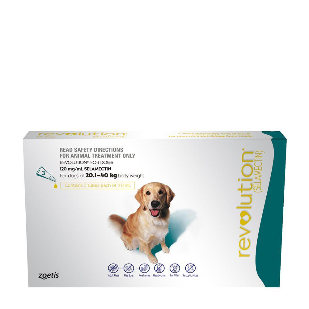 REVOLUTION EXTRA LARGE DOG 20-40KG 6PK
