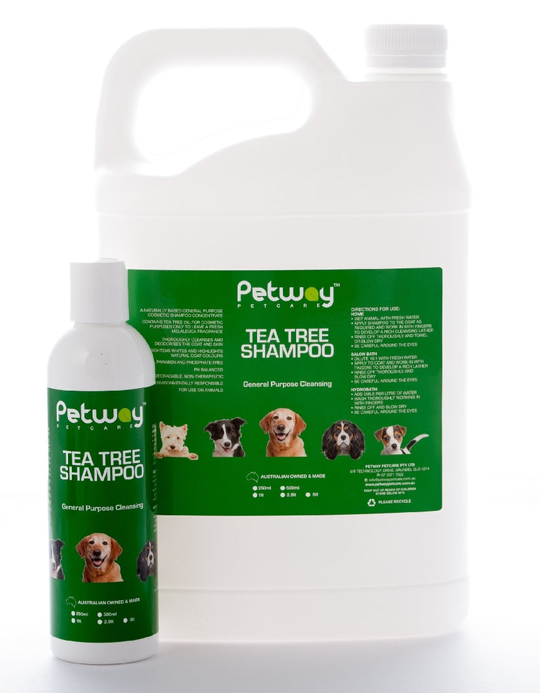 PETWAY TEA TREE SHAMPOO 500ML