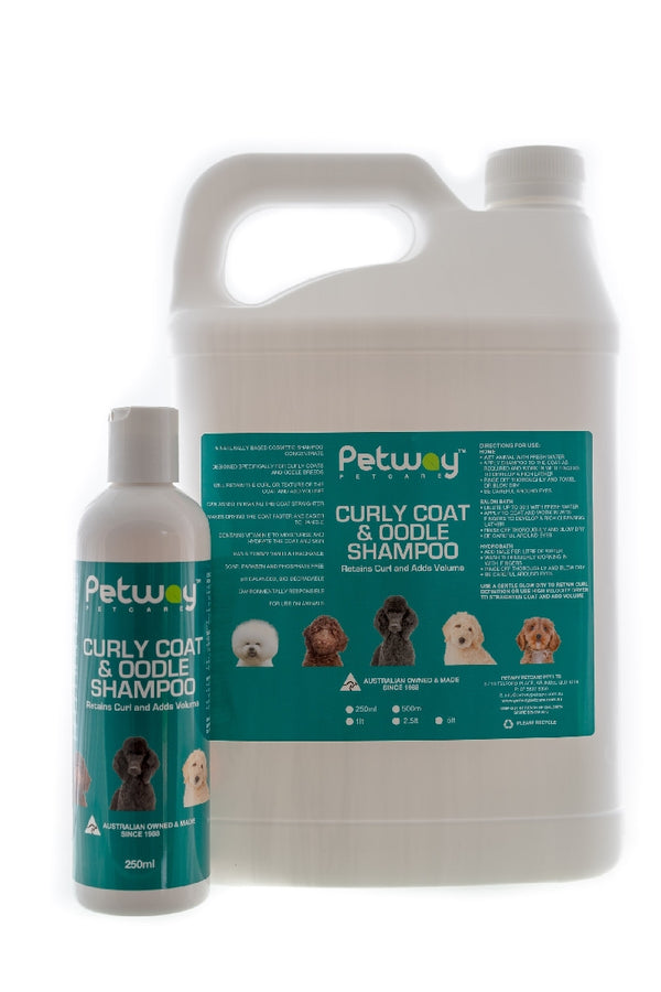 PetWay Curly Coat & Oolde Shampoo 250ml