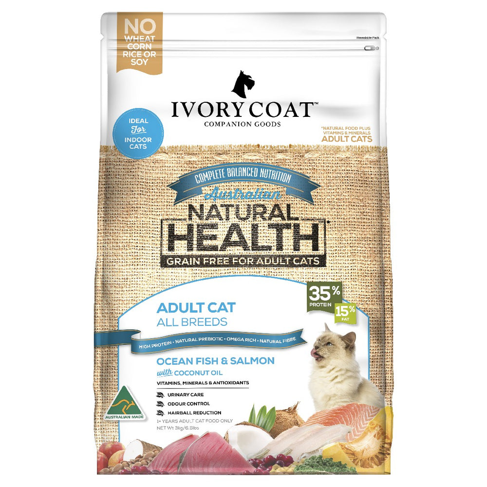 IVORY COAT CAT OEAN FISH SALMON 3KG