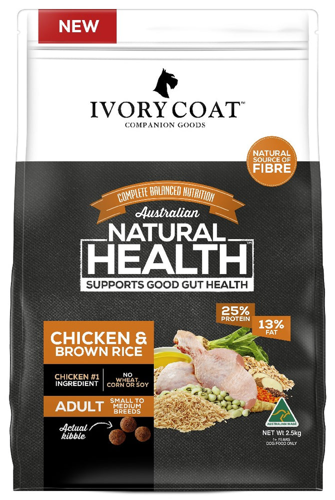 IVORY COAT CHICKEN BROWN RICE 2.5KG
