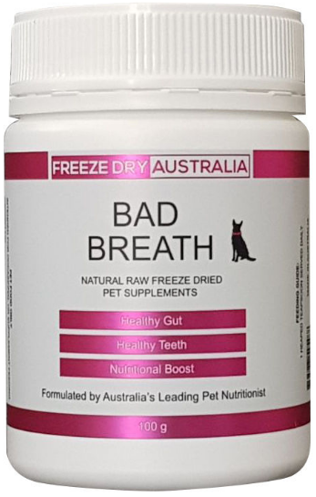 FREEZE DRIED BAD BREATH 100G