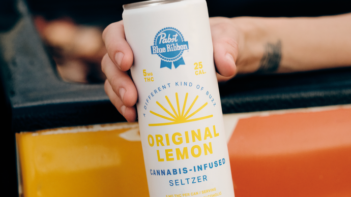 THC Infused Seltzer At a Grocery Store Near You!