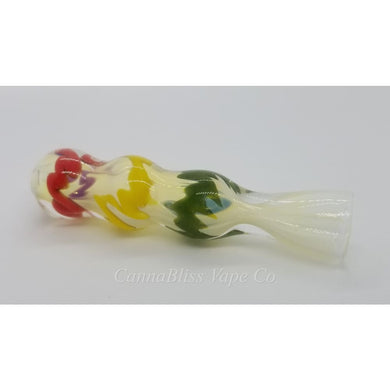 3 Glass Chillum Pipe