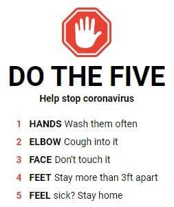 🛑World Health Organization: Coronavirus advice for the