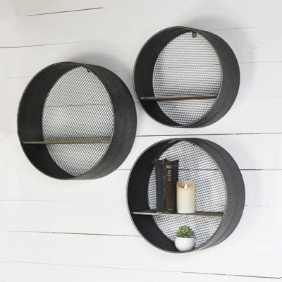 Set of 3 Circle Shelves