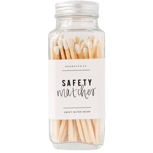 Safety Matches - White