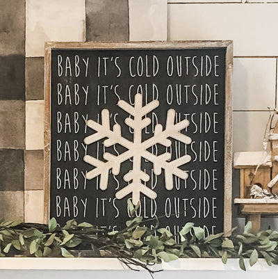 Let it Snow - Wall Sign
