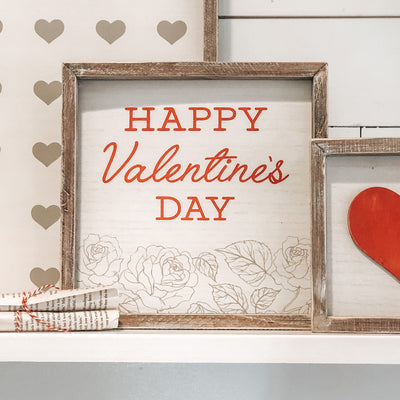 Set of 3 - Valentines Signs