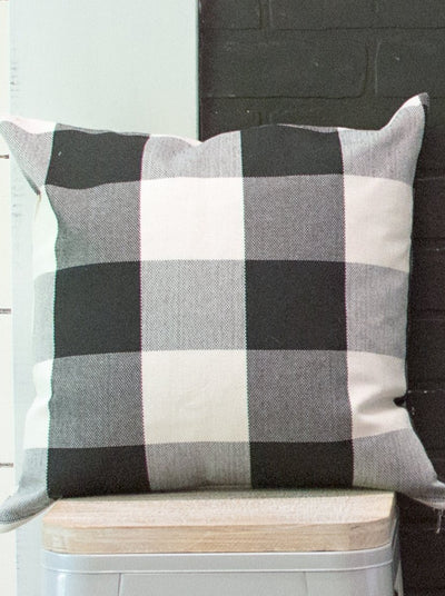 Buffalo Check Pillow Covers - Set of 2
