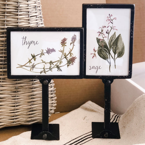 Set of 2 Black Frames