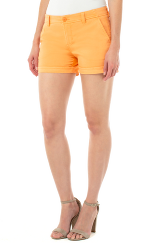 LIVERPOOL BUDDY TROUSER SHORTS-MELON