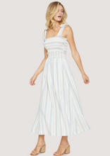 Load image into Gallery viewer, LOST + WANDER BEACHSIDE PIER MAXI-BLUE/WHITE