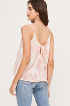 Load image into Gallery viewer, LUSH BOW BACK TANK-MAUVE
