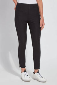 LYSSE PARK LEGGINGS-BLACK