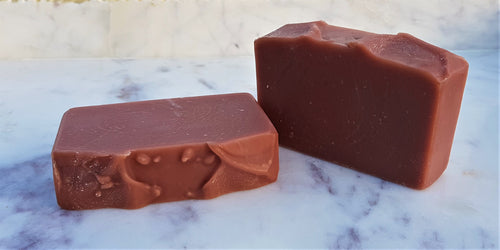 Australian Red Clay + Rose Dog Shampoo Bar