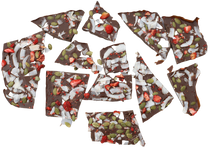 Strawberry Coconut Bark