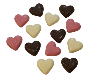 Choc Love Hearts