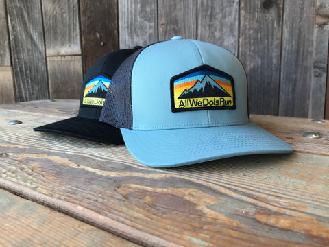 All We Do Is Run Patch Hat