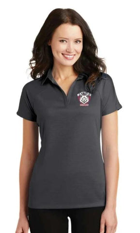 Battles Ladies Raglan Polo