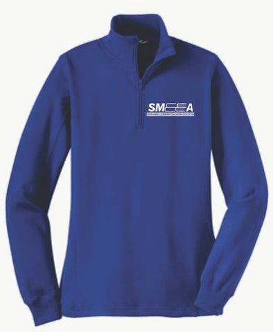 SMEEA Ladies 1/4 Zip Pullover